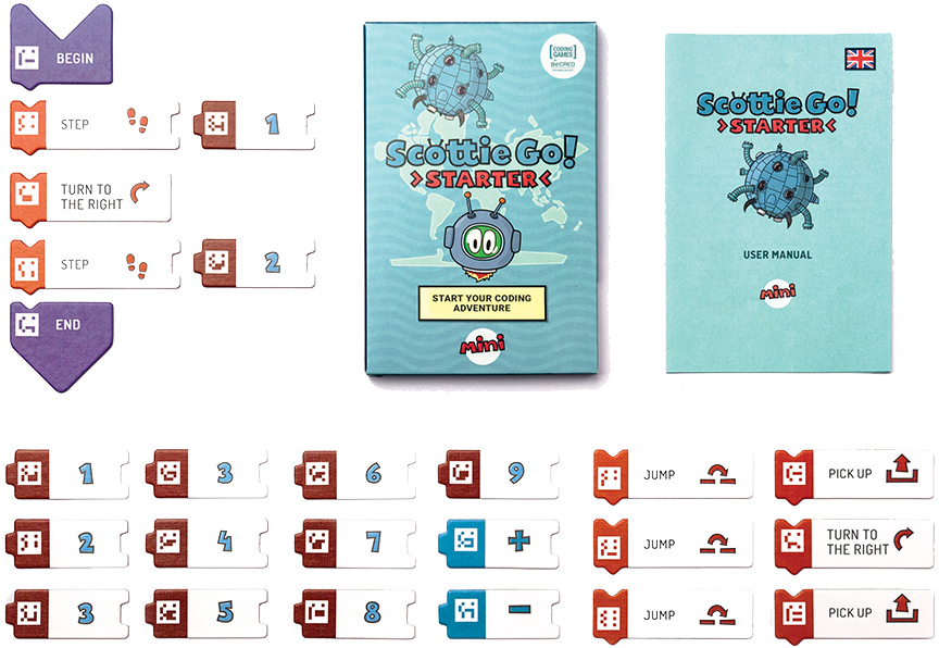starter 1 - Kinderen de stappen van het programmeren leren met Scottie Go & WIN